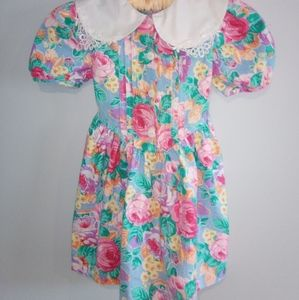 90's Vintage Girls Dress